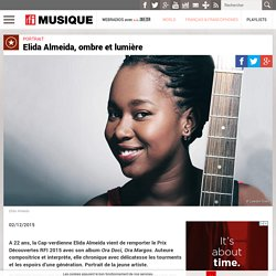 Elida Almeida, ombre et lumière