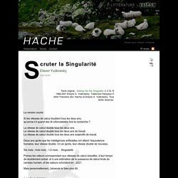 Eliezer Yudkowsky: Scruter la Singularité (Hache/essais)
