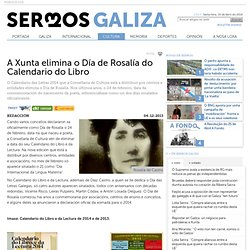A Xunta elimina o Día de Rosalía do Calendario do Libro - Cultura