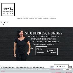 Cómo eliminar el atributo de reconocimiento de Blogger - Mamá, quiero ser blogger