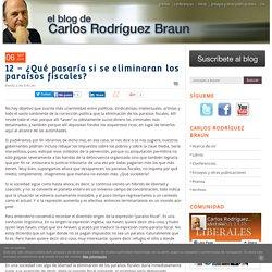 Carlos Braun 6/9/11 - ¿Qué pasaría si se eliminaran los paraísos fiscales?