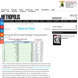 Moving to Eliminate Energy Consumption - Point of View - September 2012
