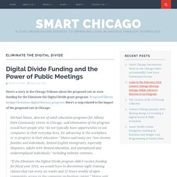 Eliminate the Digital Divide – Smart Chicago