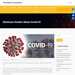 Eliminate Doubts About Covid-19 - The Health Connection
