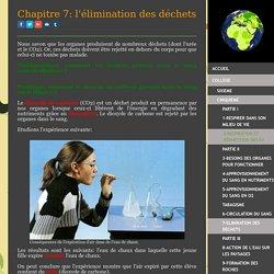 7-Elimination des déchets - Site de cours de collège et lycée en SVT