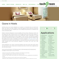 Hotel Odor Removal - Techgreensolution