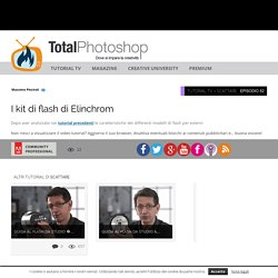 I kit di flash di ElinchromTotal Photoshop - Il primo sito di Video tutorial in Italiano su Photoshop, Fotografia, Illustrator, Premiere, After Effects, Dreamweaver e WordPress - Total Photoshop - Il primo sito di Video tutorial in Italiano su Photoshop,
