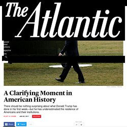Eliot A. Cohen Responds to Donald Trump's First Week - The Atlantic