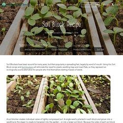 Eliot Colmans Soil Block Recipe – West Coast Seeds
