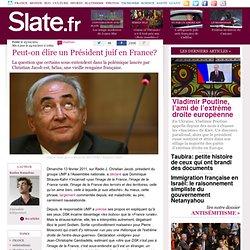 Peut-on élire un Président juif en France?