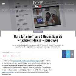 Qui a fait élire Trump? Des millions de «tâcherons du clic» sous-payés