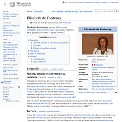 Élisabeth de Fontenay