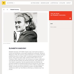 Élisabeth Ivanovsky