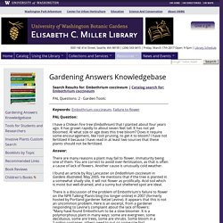 "Elisabeth C. Miller Library: Gardening Answers Search Results for ""2522"""