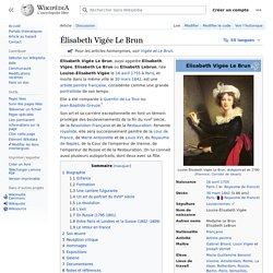 Élisabeth Vigée Le Brun
