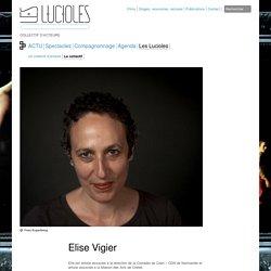 Elise Vigier - Théâtre des Lucioles