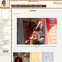 l'Inde où je vis : Kali Maa