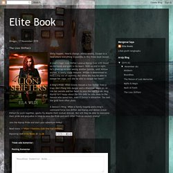 Elite Book: The Lion Shifters