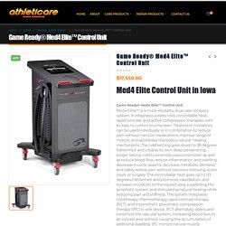 Med4 Elite Control Unit Recovery Machine in Iowa