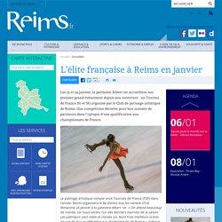 L'élite française à Reims en janvier