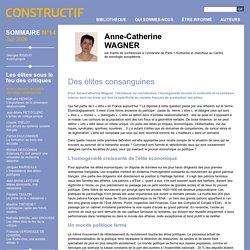 Des élites consanguines - Les élites sous le feu des critiques