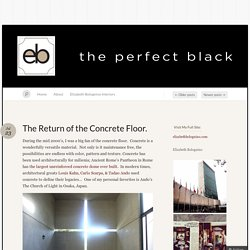 The Perfect Black « Elizabeth Bolognino's thoughts on interior design, and the moments between. « Page 2