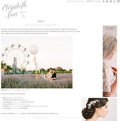 Elizabeth Anne Designs: The Wedding Blog - Wedding Ideas and Inspiration