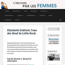 Elizabeth Eckford, l'une des Neuf de Little Rock