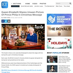 Queen Elizabeth Shares Unseen Picture Of Prince Philip In Christmas Message