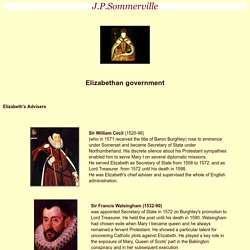 HOMEWORK William Cecil (shorter) and the Privy Council (scroll half way down)