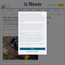 Ella Adoo-Kissi-Debrah, 9ans, «tuée» par la pollution de l'air