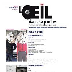 ELLA & PITR - papiers peintres - L'oeil dans sa poche
