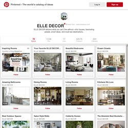 ELLE DECOR on Pinterest