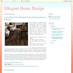 Hardwood Flooring Services in Illinois