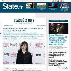 Ellen Page: oui elle est féministe et ce n'est pas «un gros mot»