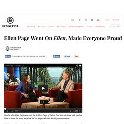 Ellen Page Interview - Ellen DeGeneres Talk Show