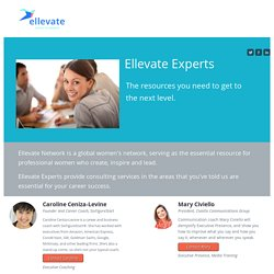 Ellevate Experts - The resources you need to get to the next level