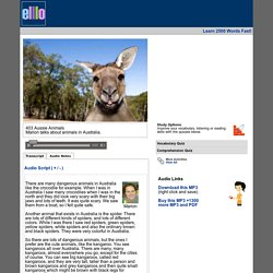 elllo #403 Aussie Animals