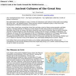 Ancient Cultures of the Great Sea
