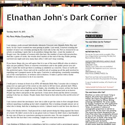 Elnathan John's Dark Corner: My Penis Makes Everything Ok.
