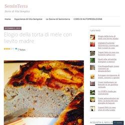 Elogio della torta di mele con lievito madre – SemInTerra