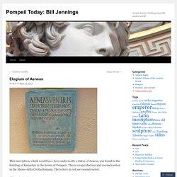 Pompeii Today: Bill Jennings