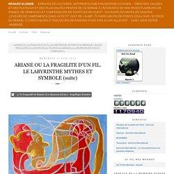 ARIANE OU LA FRAGILITE D'UN FIL. LE LABYRINTHE MYTHES ET SYMBOLE (suite)