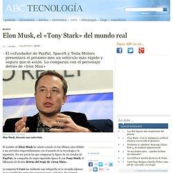 Elon Musk, el «Tony Stark» del mundo real