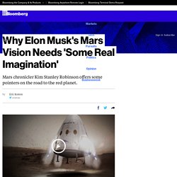 Why Elon Musk's Mars Vision Needs 'Some Real Imagination'
