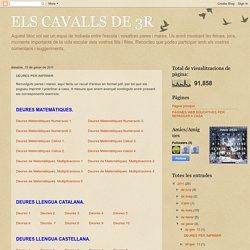 ELS CAVALLS DE 3R: DEURES PER IMPRIMIR