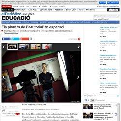 Els pioners de l'e-tutorial en espanyol