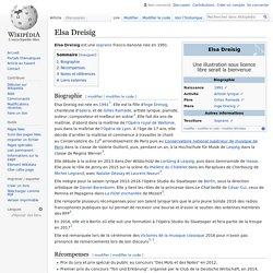 Elsa Dreisig