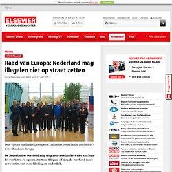 Raad van Europa: Nederland mag illegalen niet op straat zetten