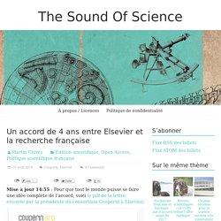 Un accord de 4 ans entre Elsevier et la recherche française